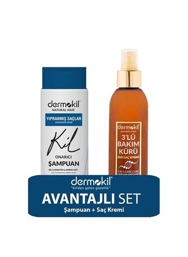 Dermokil Dermokil Amino Asit Şampuan ve Saç Kremi 2'li SET Renksiz